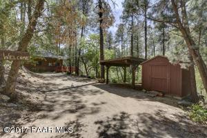 Photo of 1341 W Boulder Road, Prescott, AZ a single family home around 1500 Sq Ft., 2 Beds, 2 Baths