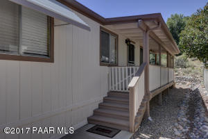 Photo of 2337 Canyon Court, Prescott, AZ a single family manufactured home around 800 Sq Ft., 2 Beds, 1 Bath
