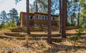 Photo of 4735 S Juniper Loop Road, Prescott, AZ a single family home around 700 Sq Ft., 2 Beds, 1 Bath