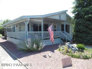 Photo of 623 N Mesquite Tree Drive, Prescott Valley, AZ a single family manufactured home around 1700 Sq Ft., 2 Beds, 2 Baths