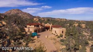 Photo of 4725 W Phantom Hill Road, Prescott, AZ a single family home greater than 5000 Sq Ft., 5 Beds, 5 Baths