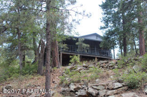Photo of 3693 E Pine Mountain Road, Prescott, AZ a single family manufactured home around 800 Sq Ft., 2 Beds, 1 Bath