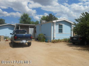 Photo of 635 Ruth Road, Chino Valley, AZ a single family manufactured home around 1100 Sq Ft., 2 Beds, 2 Baths