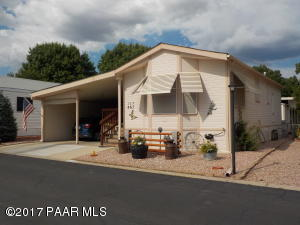 Photo of 867 N Ponderosa Pine Drive #105, Prescott Valley, AZ a single family manufactured home around 800 Sq Ft., 1 Bed, 1 Bath