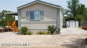 Photo of 1870 Beverly Lane, Chino Valley, AZ a single family manufactured home around 1000 Sq Ft., 3 Beds, 2 Baths