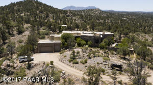 Photo of 16601 Petroglyph Road, Prescott, AZ a single family home around 3600 Sq Ft., 3 Beds, 2 Baths