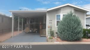 Photo of 896 N Mountain Brush Drive, Prescott Valley, AZ a single family manufactured home around 800 Sq Ft., 2 Beds, 1 Bath