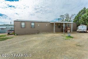 Photo of 7801 E Thelma Drive, Prescott Valley, AZ a single family manufactured home around 1100 Sq Ft., 2 Beds, 2 Baths