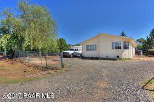 Photo of 6167 N Moonlight Way, Prescott Valley, AZ a single family manufactured home around 1100 Sq Ft., 2 Beds, 2 Baths