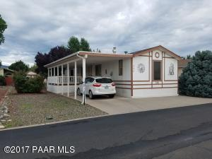 Photo of 594 N Blue Spruce Drive #146, Prescott Valley, AZ a single family manufactured home around 900 Sq Ft., 2 Beds, 2 Baths