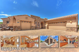 Photo of 5685 Halcyone Circle, Prescott, AZ a single family home around 2500 Sq Ft., 3 Beds, 3 Baths