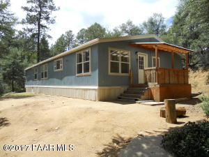 Photo of 4549 S Indian Creek Road, Prescott, AZ a single family manufactured home around 2000 Sq Ft., 3 Beds, 2 Baths