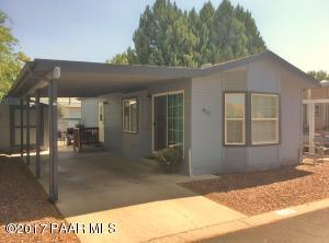 Photo of 817 N Ponderosa Pine Drive, Prescott Valley, AZ a single family manufactured home around 700 Sq Ft., 1 Bed, 1 Bath