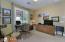 Bedroom 3 with Sliding Door Closet, Drapes, Carpet Flooring,
