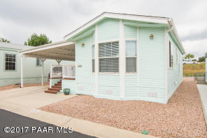 Photo of 856 N Mountain Brush Drive, Prescott Valley, AZ a single family manufactured home around 700 Sq Ft., 1 Bed, 1 Bath