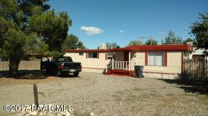 Photo of 4517 N Raven Drive, Prescott Valley, AZ a single family manufactured home around 700 Sq Ft., 2 Beds, 1 Bath