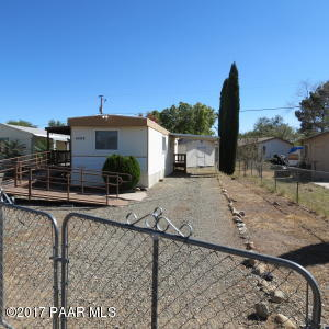 Photo of 4493 N Romero Circle W, Prescott Valley, AZ a single family manufactured home around 700 Sq Ft., 2 Beds, 1 Bath