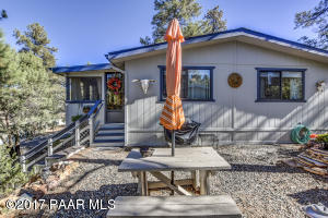 Photo of 38 Oakmont, Prescott, AZ a single family manufactured home around 1000 Sq Ft., 2 Beds, 2 Baths