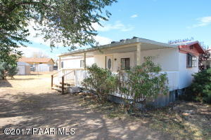 Photo of 4172 N Jay Court, Prescott Valley, AZ a single family manufactured home around 700 Sq Ft., 2 Beds, 1 Bath