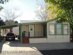 Photo of 870 N Creekview Drive, Prescott Valley, AZ a single family manufactured home around 700 Sq Ft., 2 Beds, 2 Baths