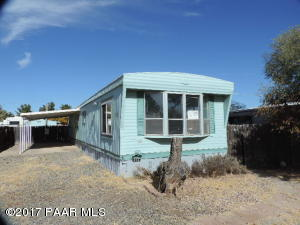 Photo of 4528 N Katie Circle, Prescott Valley, AZ a single family manufactured home around 900 Sq Ft., 2 Beds, 2 Baths