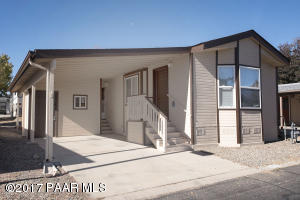 Photo of 898 N Ponderosa Pine Drive, Prescott Valley, AZ a single family manufactured home around 700 Sq Ft., 1 Bed, 1 Bath
