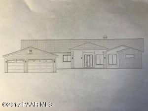 Builder Rendering- Completed home will be similar style