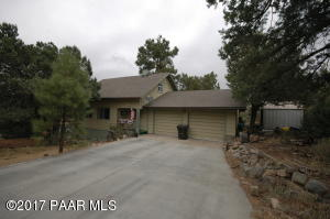 Photo of 1343 E Pine Ridge Drive, Prescott, AZ a single family home around 2000 Sq Ft., 3 Beds, 2 Baths