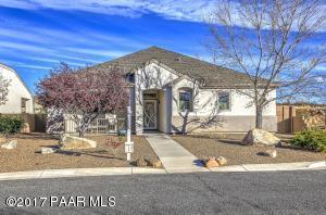 Photo of 1621 N Thimble Lane, Prescott Valley, AZ a single family home around 1600 Sq Ft., 3 Beds, 2 Baths