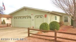 Photo of 12275 E Obsidian Loop Road, Prescott Valley, AZ a single family manufactured home around 1700 Sq Ft., 3 Beds, 2 Baths