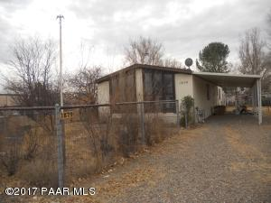 Photo of 1879 E Jackie Way, Chino Valley, AZ a single family manufactured home around 1400 Sq Ft., 2 Beds, 2 Baths