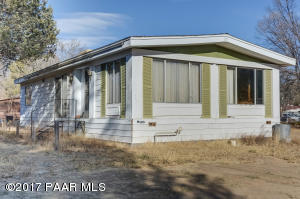 Photo of 1524 Swenson Street, Prescott, AZ a single family manufactured home around 1500 Sq Ft., 2 Beds, 2 Baths