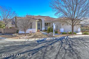 Photo of 7605 E Bravo Lane, Prescott Valley, AZ a single family home around 2300 Sq Ft., 3 Beds, 3 Baths
