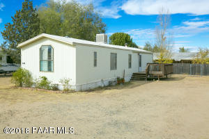 Photo of 1444 Meadow Lane, Chino Valley, AZ a single family manufactured home around 900 Sq Ft., 2 Beds, 2 Baths