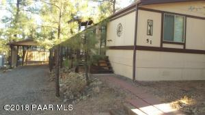Photo of 51 Oakmont, Prescott, AZ a single family manufactured home around 1300 Sq Ft., 2 Beds, 2 Baths