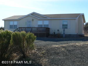 Photo of 17365 E Panorama Drive, Mayer, AZ a single family manufactured home around 1200 Sq Ft., 3 Beds, 2 Baths