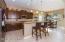 kitchen with matte finish granite countertops