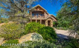 Photo of 9880 N Clear Fork Road, Prescott, AZ a single family home greater than 5000 Sq Ft., 4 Beds, 5 Baths