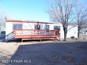 Photo of 1314 Hall Lane, Chino Valley, AZ a single family manufactured home around 1400 Sq Ft., 3 Beds, 2 Baths