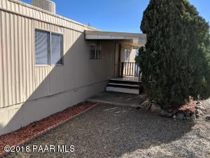 Photo of 4675 N Ranger Road, Prescott Valley, AZ a single family manufactured home around 900 Sq Ft., 2 Beds, 1 Bath