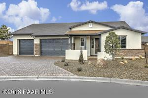 Wide Long Paver Driveway & Covered Front Coffee Patio