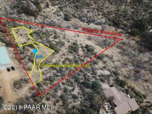 Photo of 1612 Catim Way, Prescott, AZ a vacant land listing for 1.70 acres