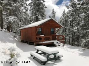 Photo of 8676 S Packmule Pass, Prescott, AZ a single family manufactured home under 500 Sq Ft., 1 Bed, 1 Bath