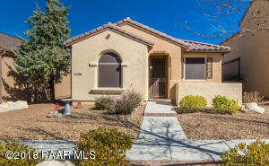 Photo of 1097 N Hobble Strap Street, Prescott Valley, AZ a single family home around 1400 Sq Ft., 2 Beds, 2 Baths