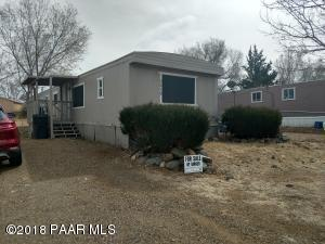 Photo of 3479 N Pima Drive, Prescott Valley, AZ a single family manufactured home around 900 Sq Ft., 3 Beds, 2 Baths