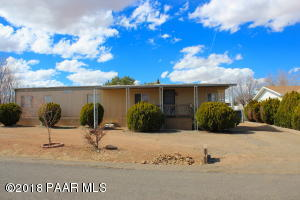 Photo of 4800 N Socorro Drive, Prescott Valley, AZ a single family manufactured home around 900 Sq Ft., 2 Beds, 1 Bath