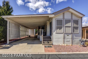 Photo of 890 N Ponderosa Pine Drive, Dewey, AZ a single family manufactured home under 500 Sq Ft., 1 Bed, 1 Bath