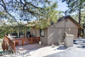 Photo of 5952 Sleepy Hollow Drive, Prescott, AZ a single family home around 1700 Sq Ft., 2 Beds, 2 Baths