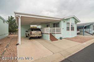 Photo of 856 N Mountain Brush Drive, Dewey, AZ a single family manufactured home around 700 Sq Ft., 1 Bed, 1 Bath