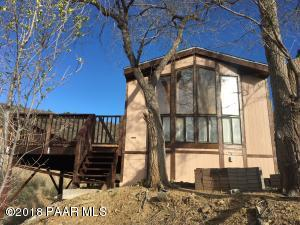 Photo of 1714 Butterfield Road, Prescott, AZ a single family manufactured home around 900 Sq Ft., 2 Beds, 1 Bath